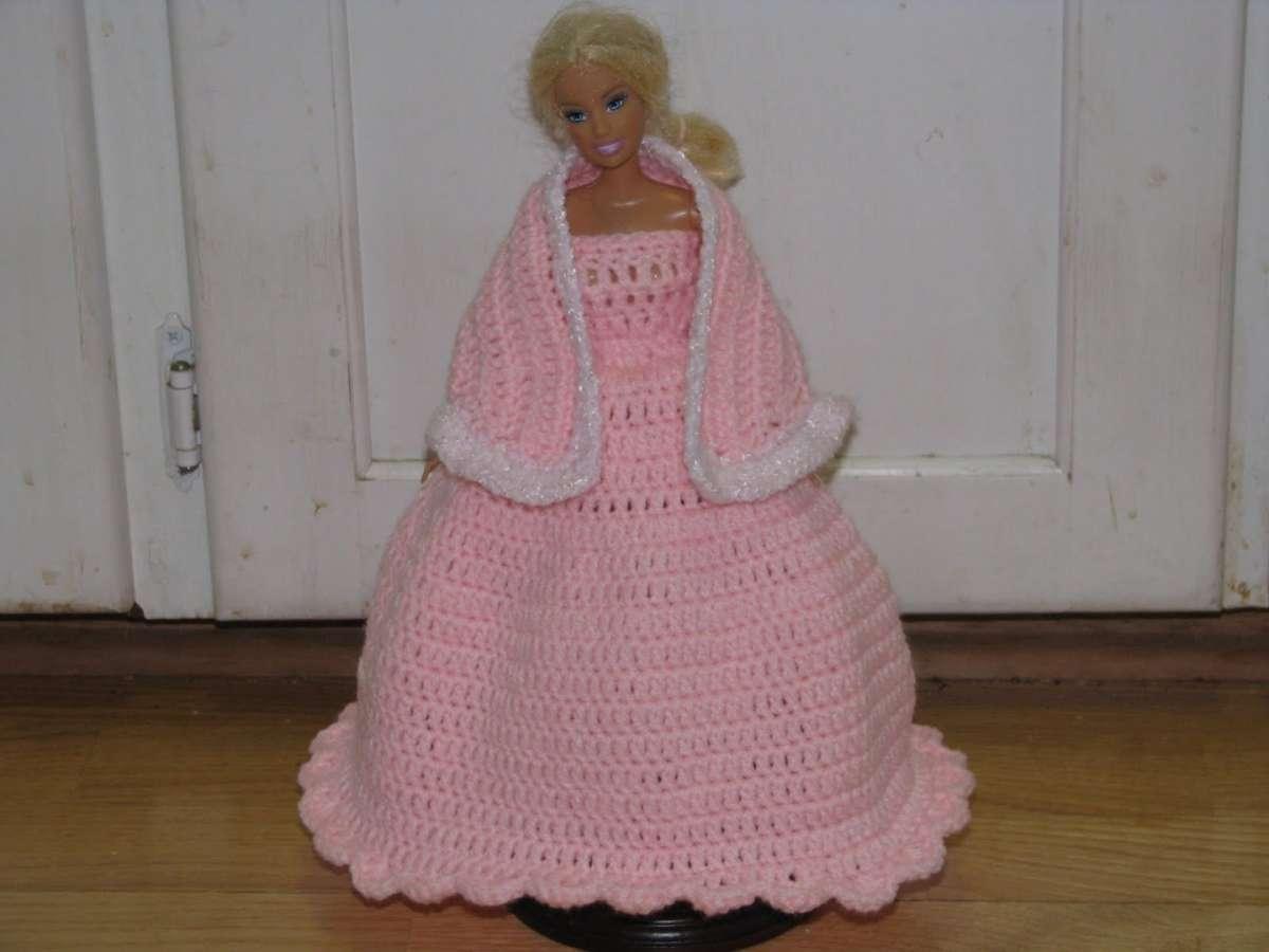 Barbie all'uncinetto