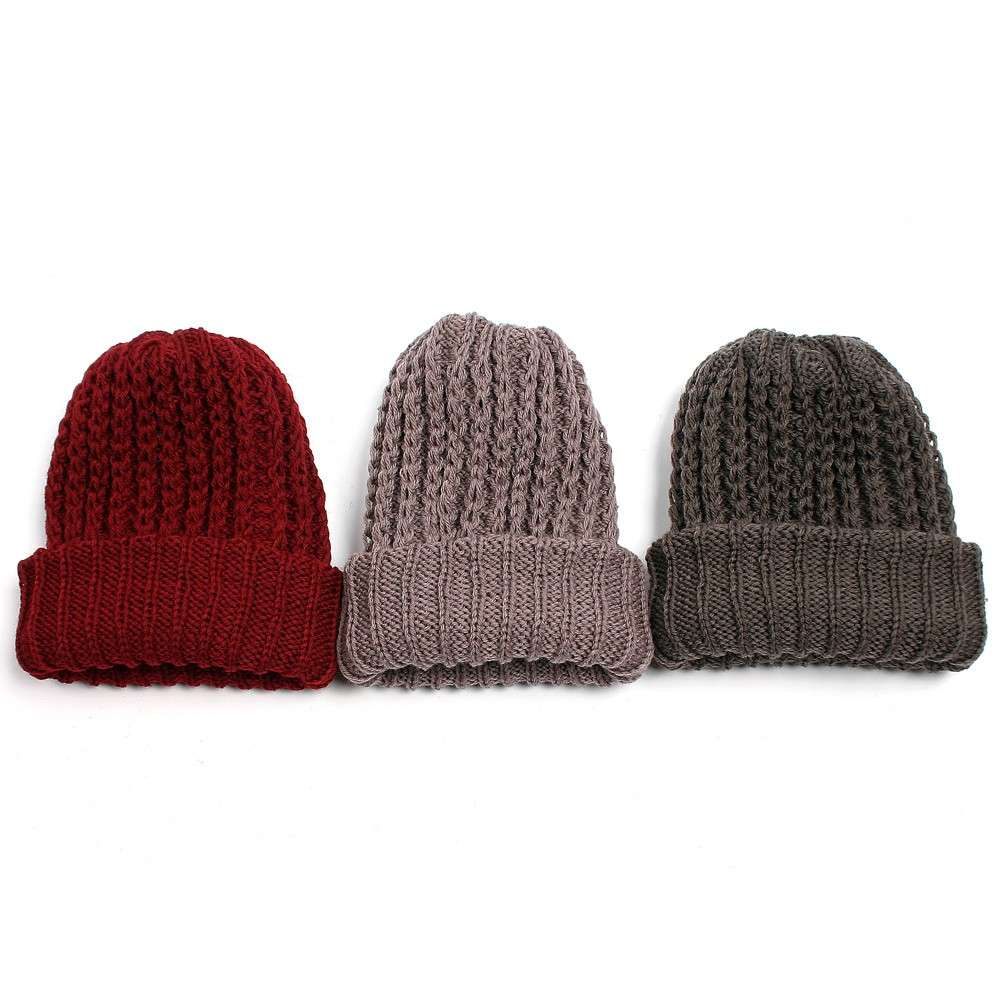 Cappelli in maglia per lui