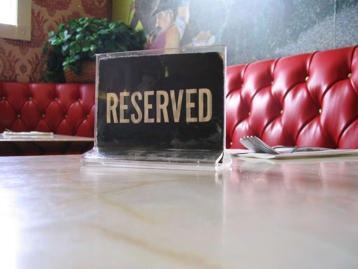 Dimenticare la prenotazione