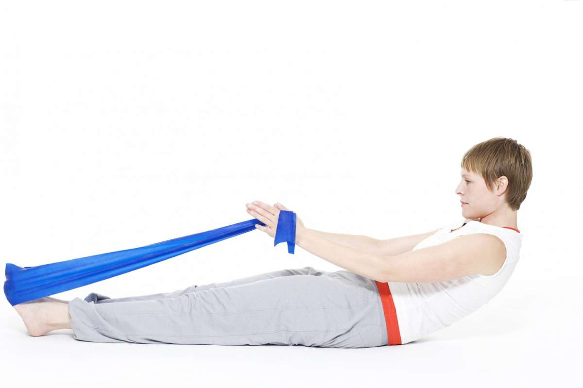 Pilates con l'elastico