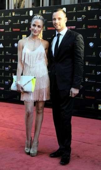 Reeva Steenkamp con Pistorius