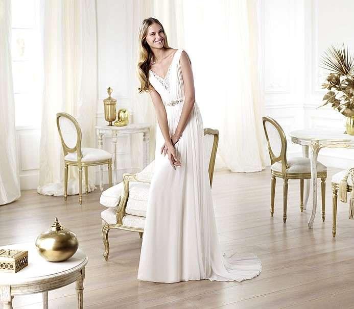 Abito da sposa Pronovias modello Lamba