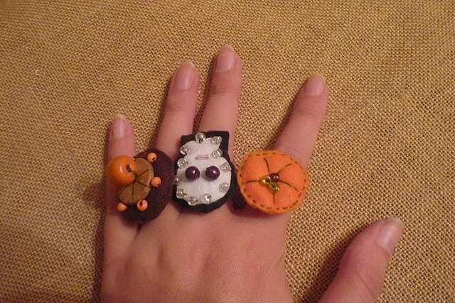 Anelli per Halloween