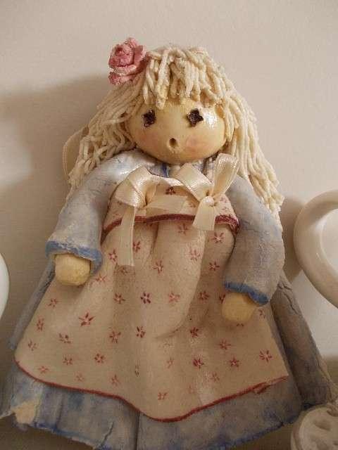 Bambola in pasta di sale