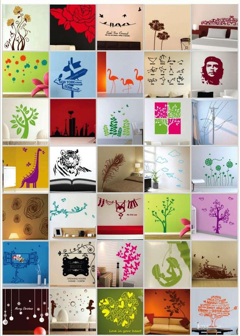 Decorazioni adesive per le pareti