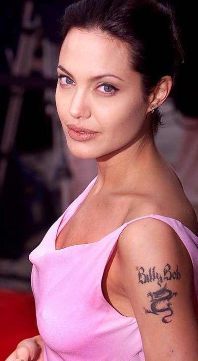 Tatuaggio di Angelina Jolie