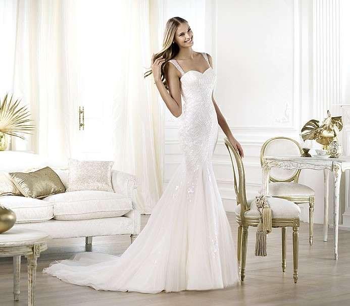 Vestito da sposa Pronovias modello Lagara