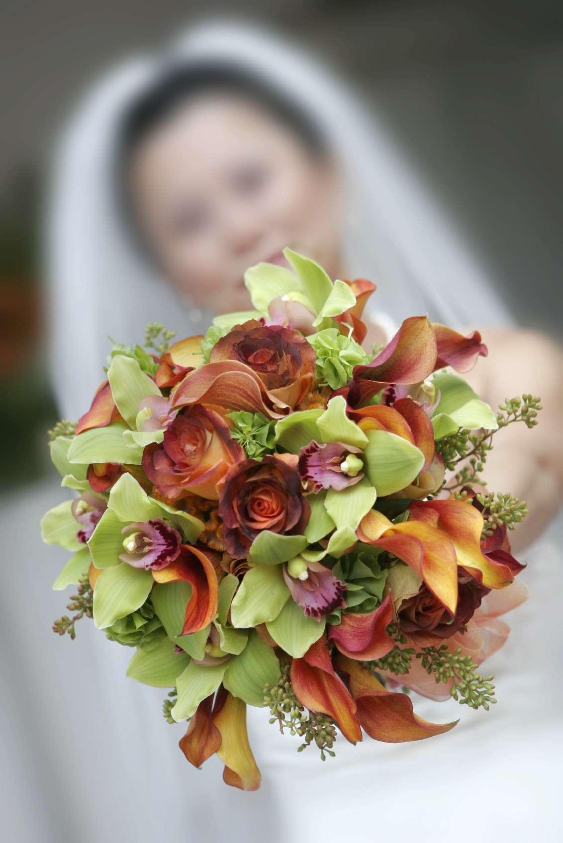 Addobbi di fiori autunnali per le nozze