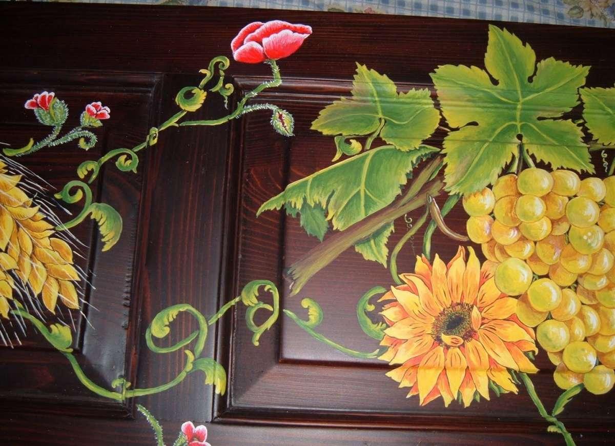 Dipingere sul legno