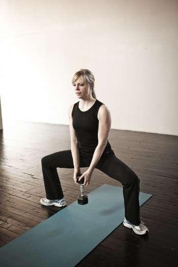Muscoli delle gambe con pesi
