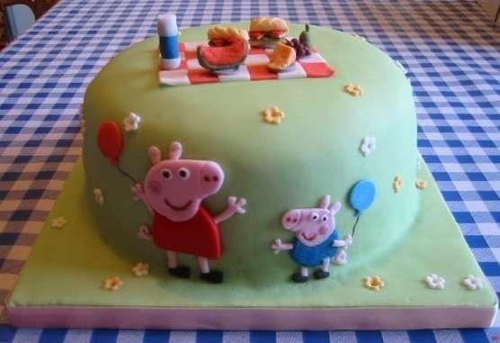 Torta compleanno 'Peppa pig'