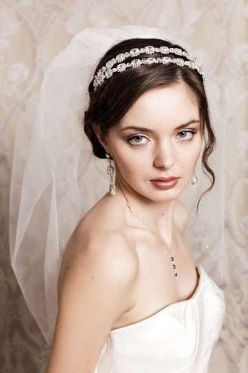 Velo da sposa con cerchietto