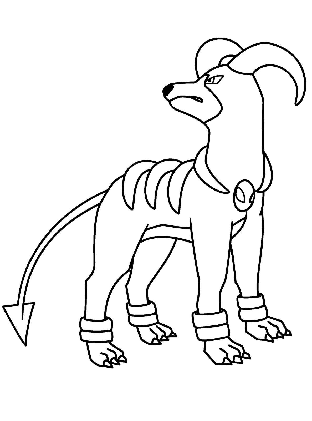 Disegno di un cane di fantasia