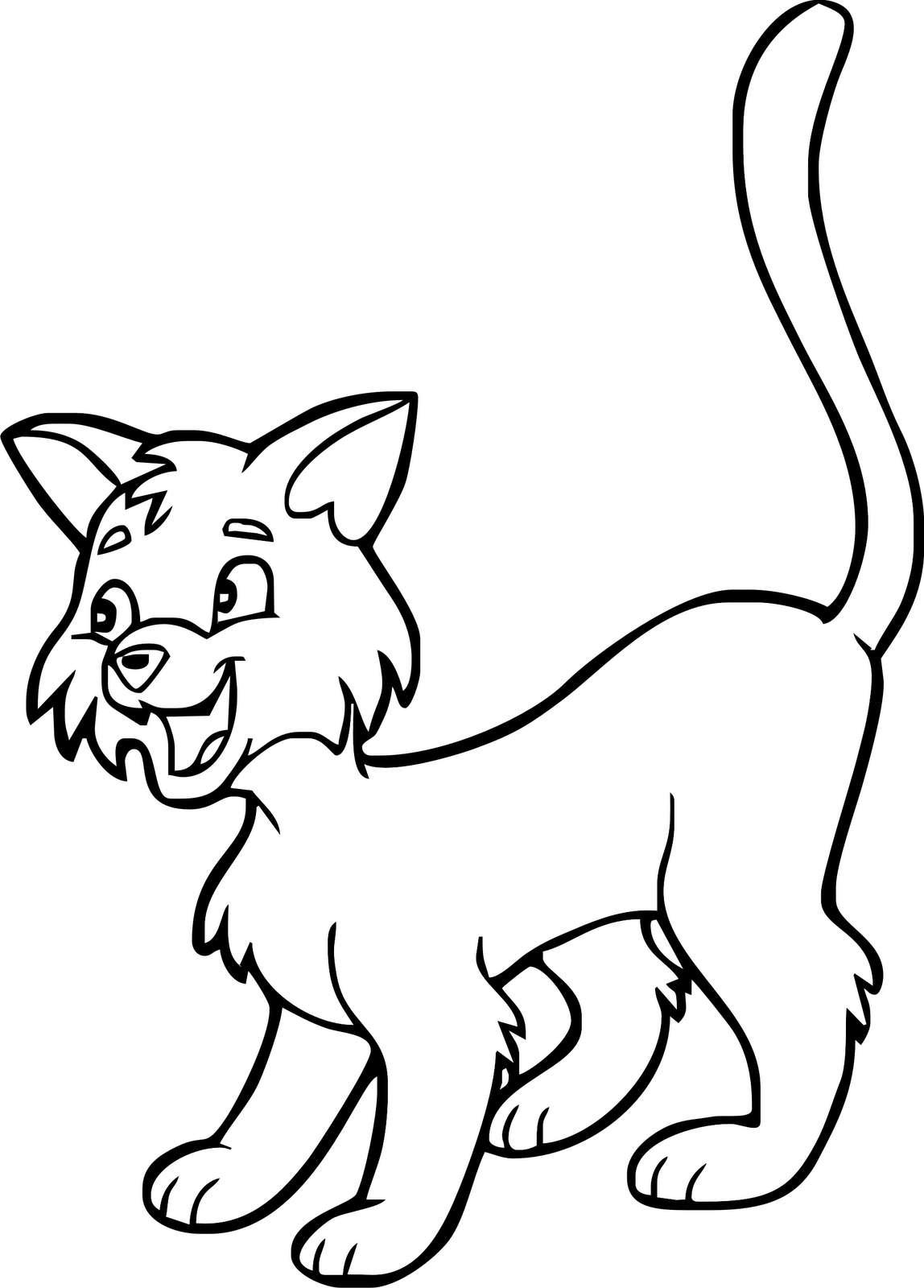 Disegno di un gattino