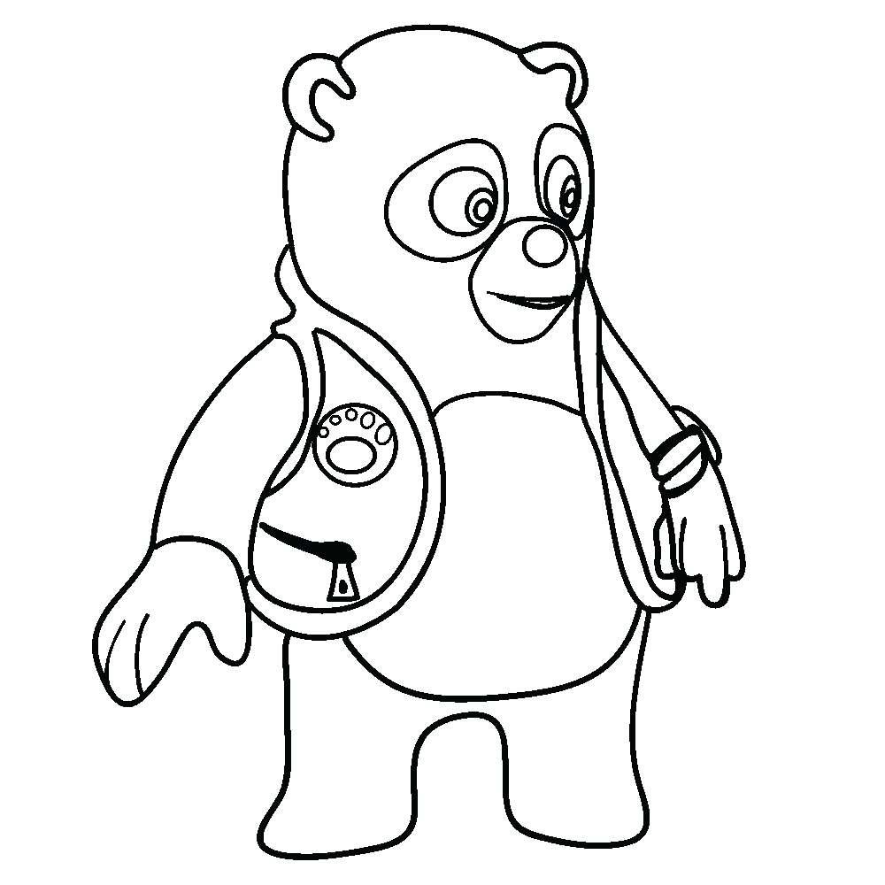 Disegno di un orso