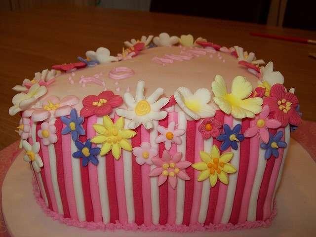 Festa della mamma: torta di fiori