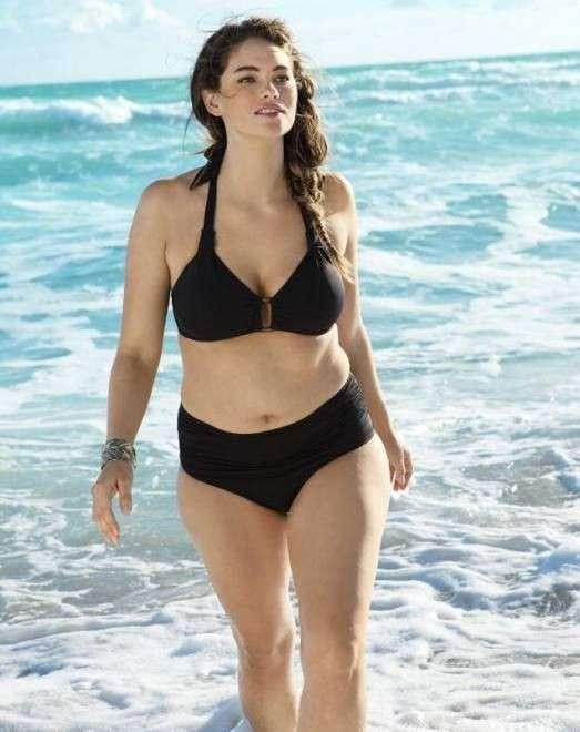 La modella curvy di H&M