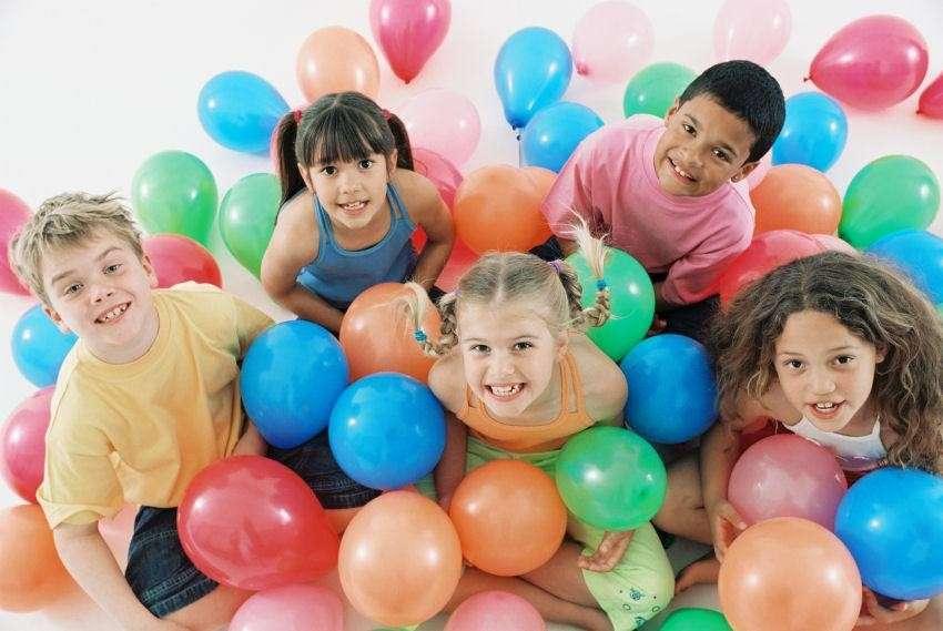 Palloncini per il compleanno dei bambini