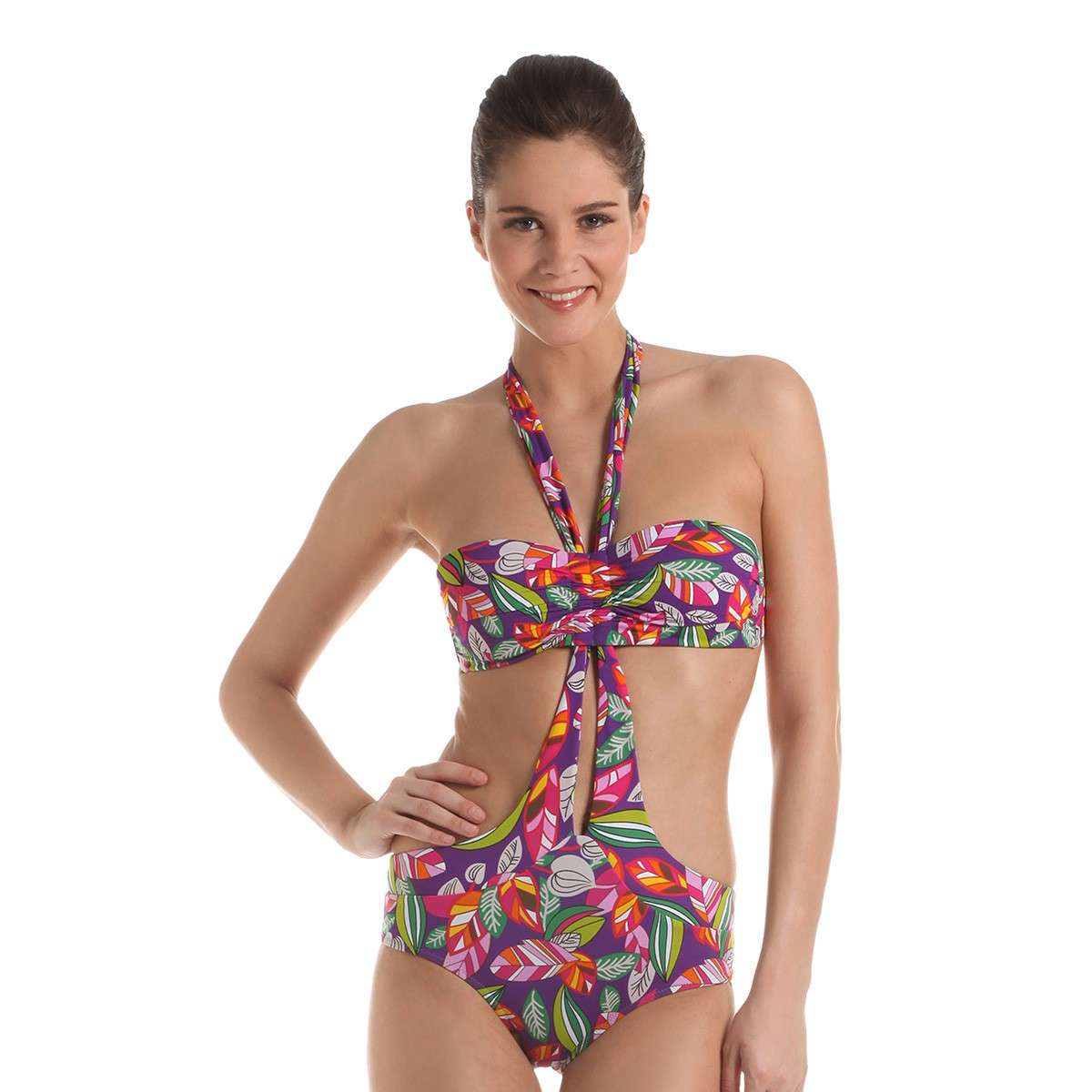 Trikini con fascia Yamamay per fianchi larghi