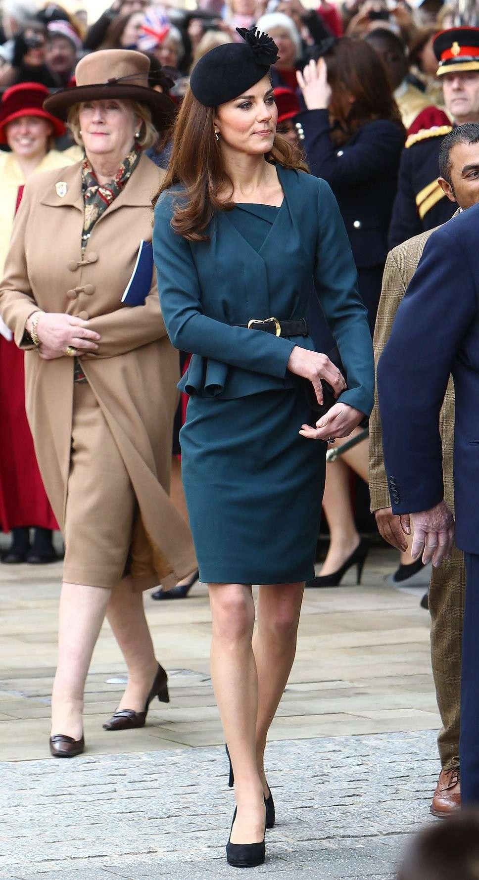 Cappello nero per Kate Middleton