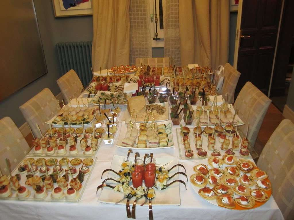 Come presentare un buffet