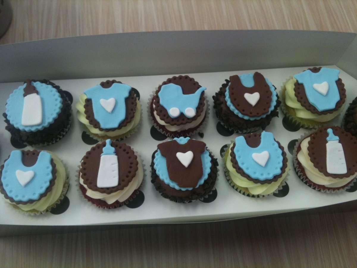 Cupcakes per un maschietto