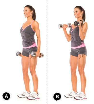 Esercizi per i pettorali con pesi