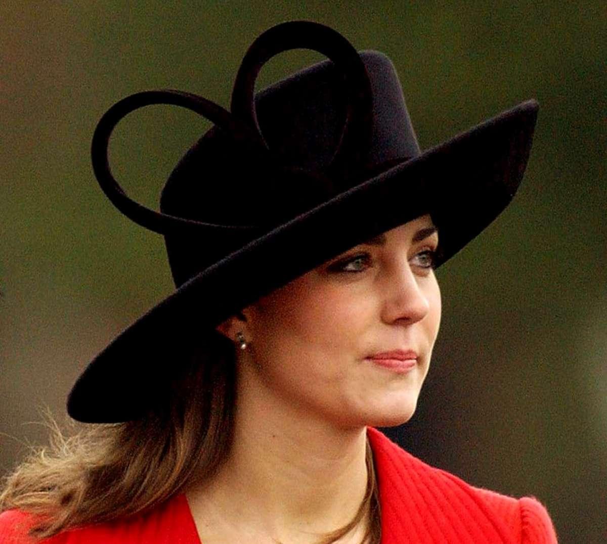 Il cappello nero di Kate