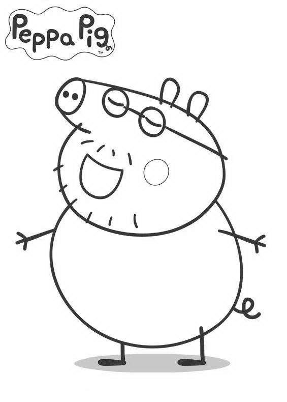Il papà di Peppa Pig