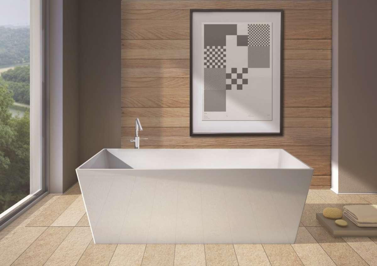 Vasca spigolosa di design