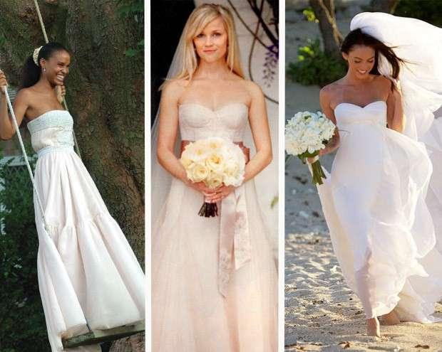 Vestiti da sposa delle vip
