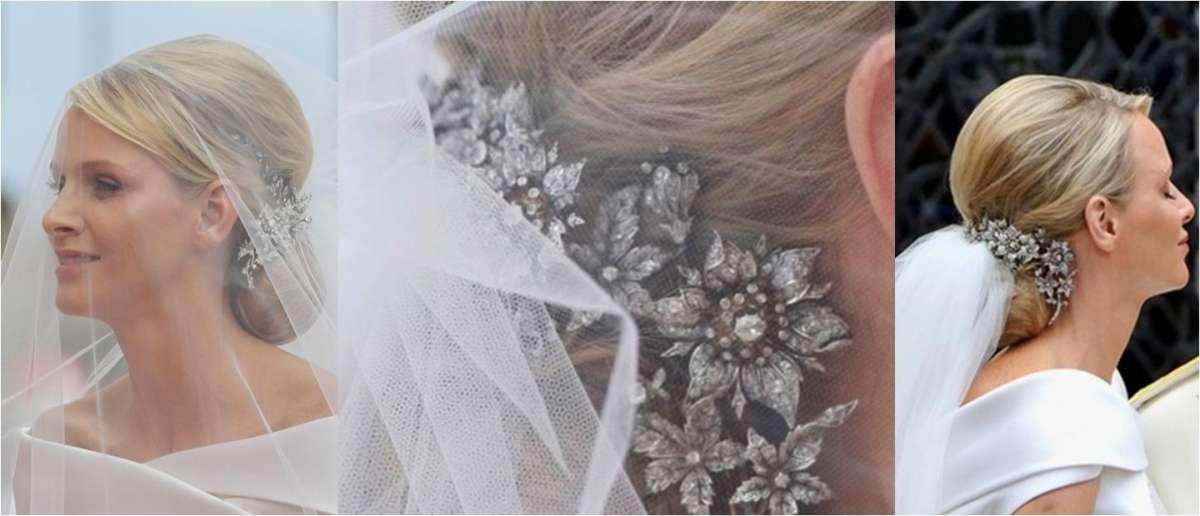 Vestito da sposa di Charlene