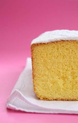 Fetta di torta paradiso