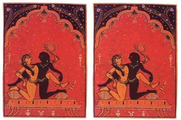 Stampe dal Kamasutra