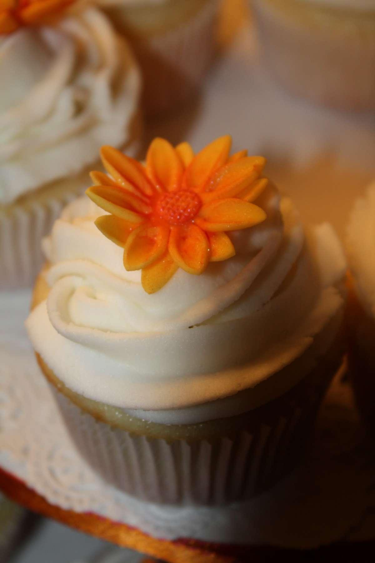 Torta autunnale a cupcake