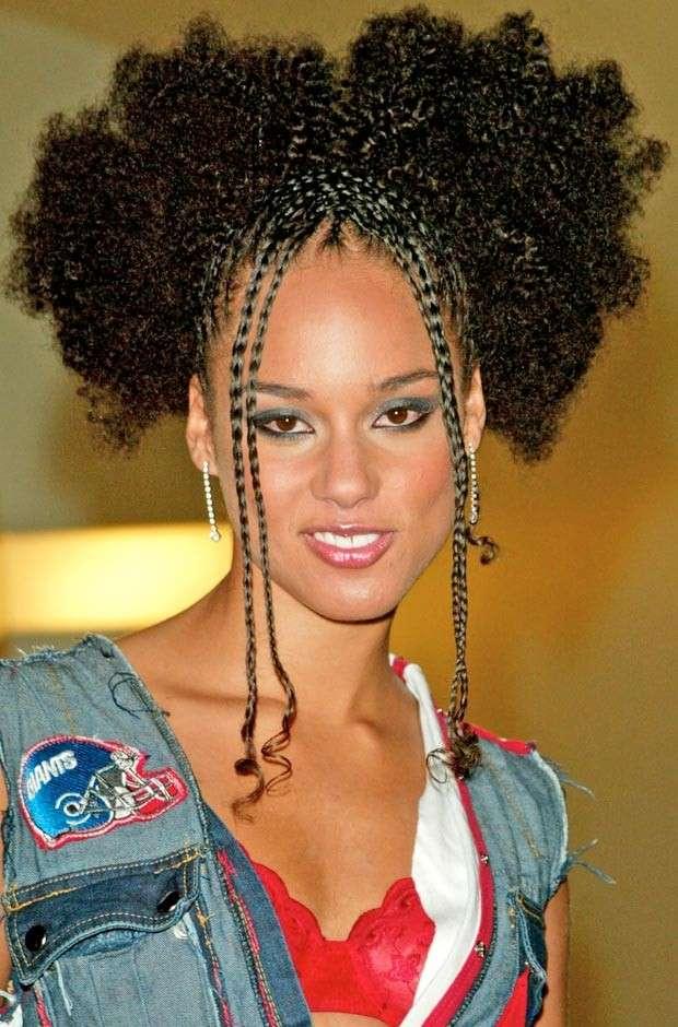 Treccine afro di Alicia Keys