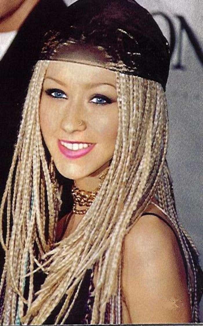 Treccine di Christina Aguilera