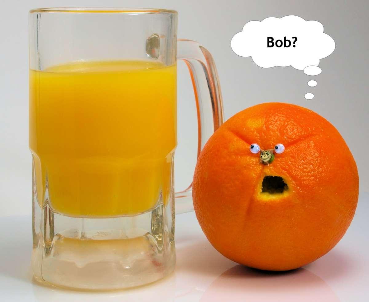 L'arancia divertente