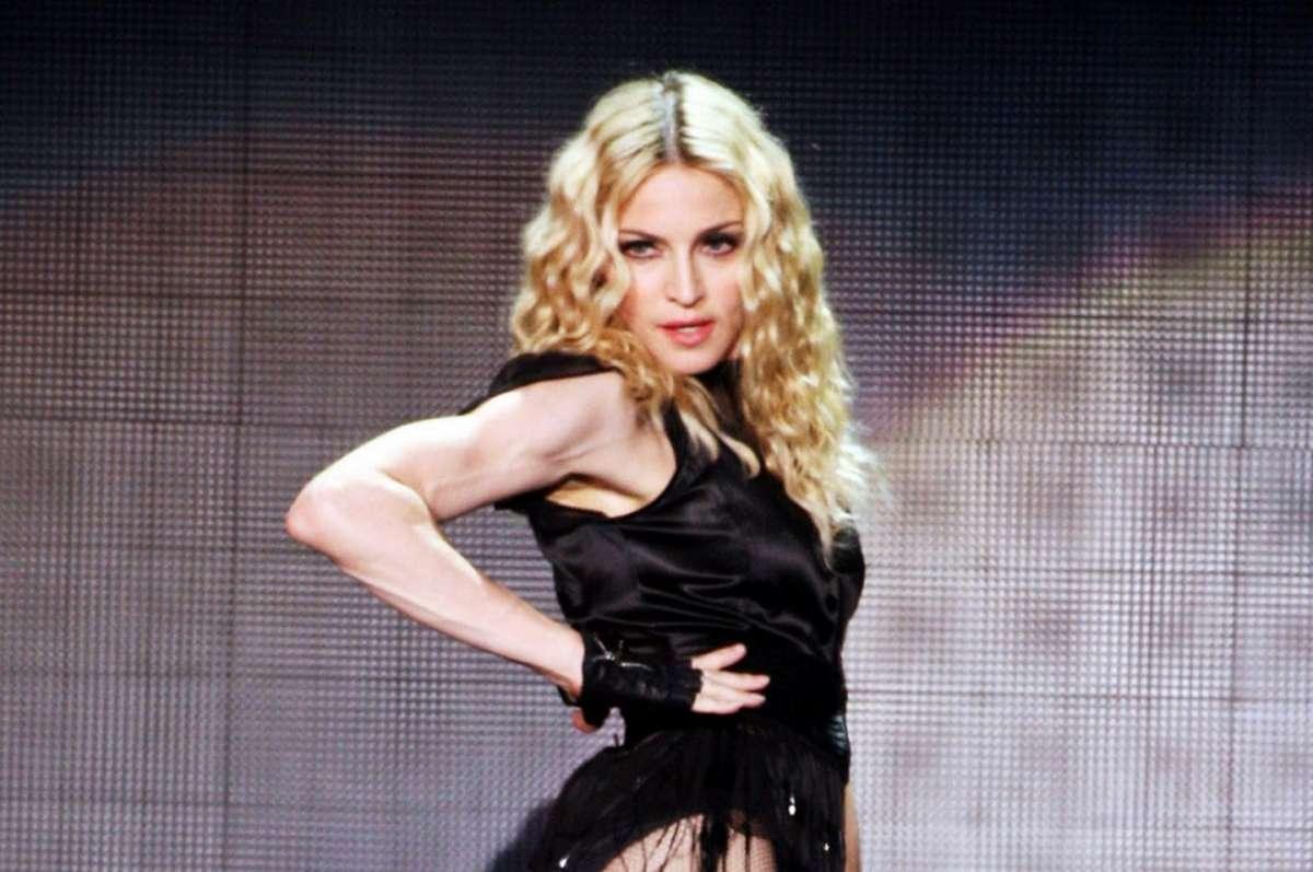 Madonna e la sua dieta