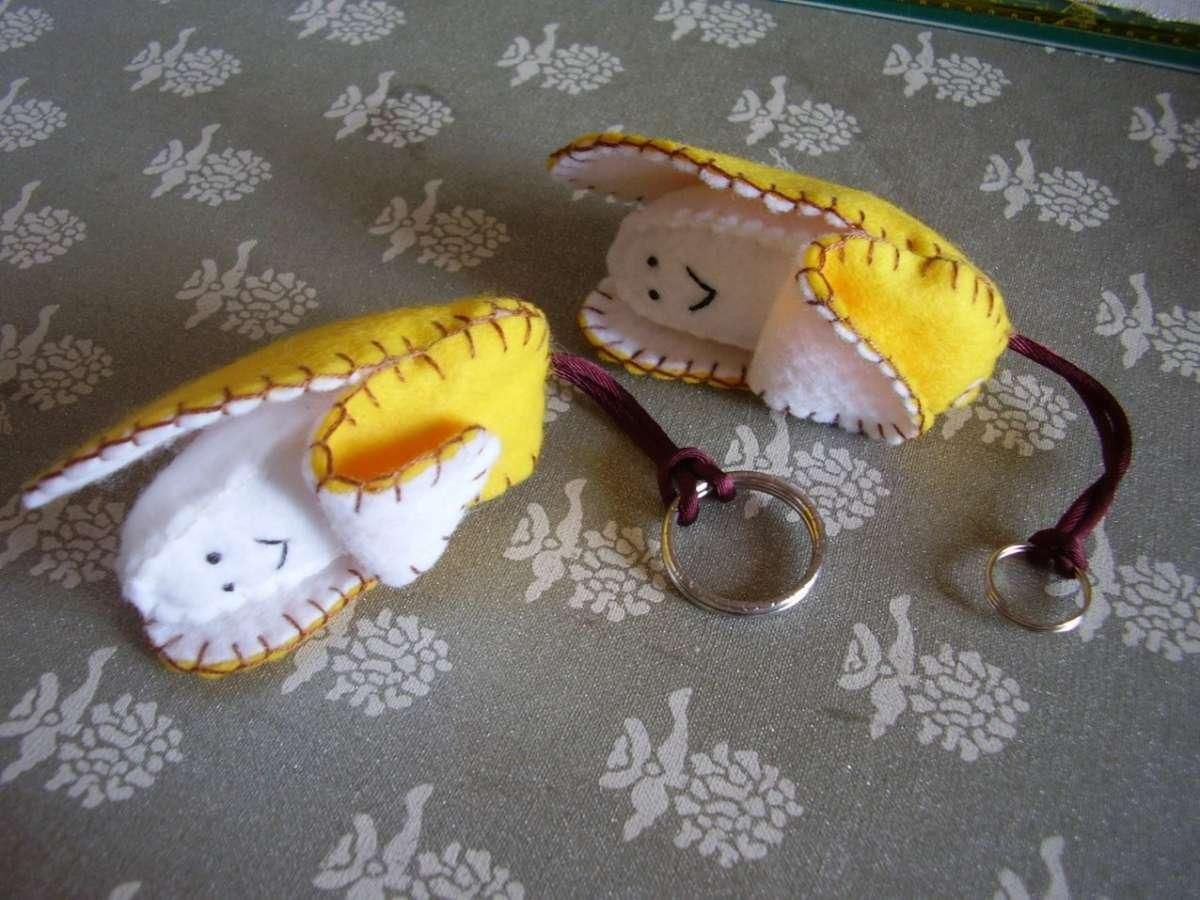Banane portachiavi