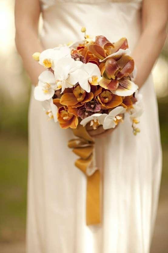 Bouquet sui toni del marrone