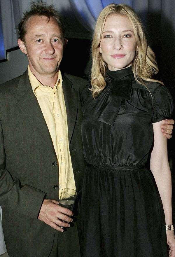 Cate Blanchett e Andrew Upton