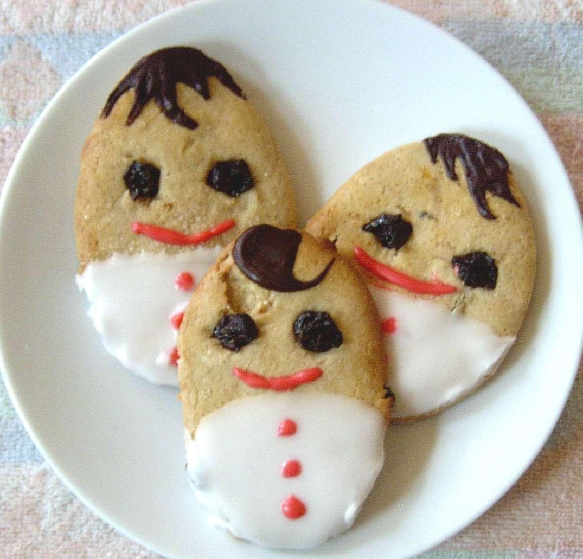 Faccine fatte con i biscotti