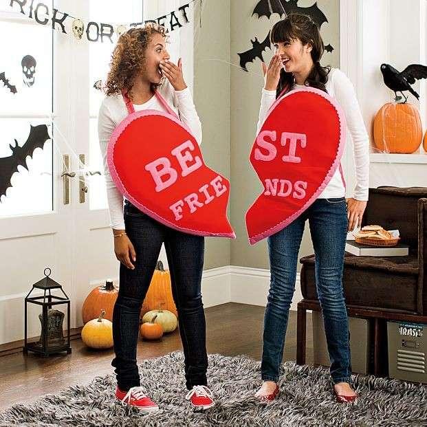 Costume di Halloween per amiche