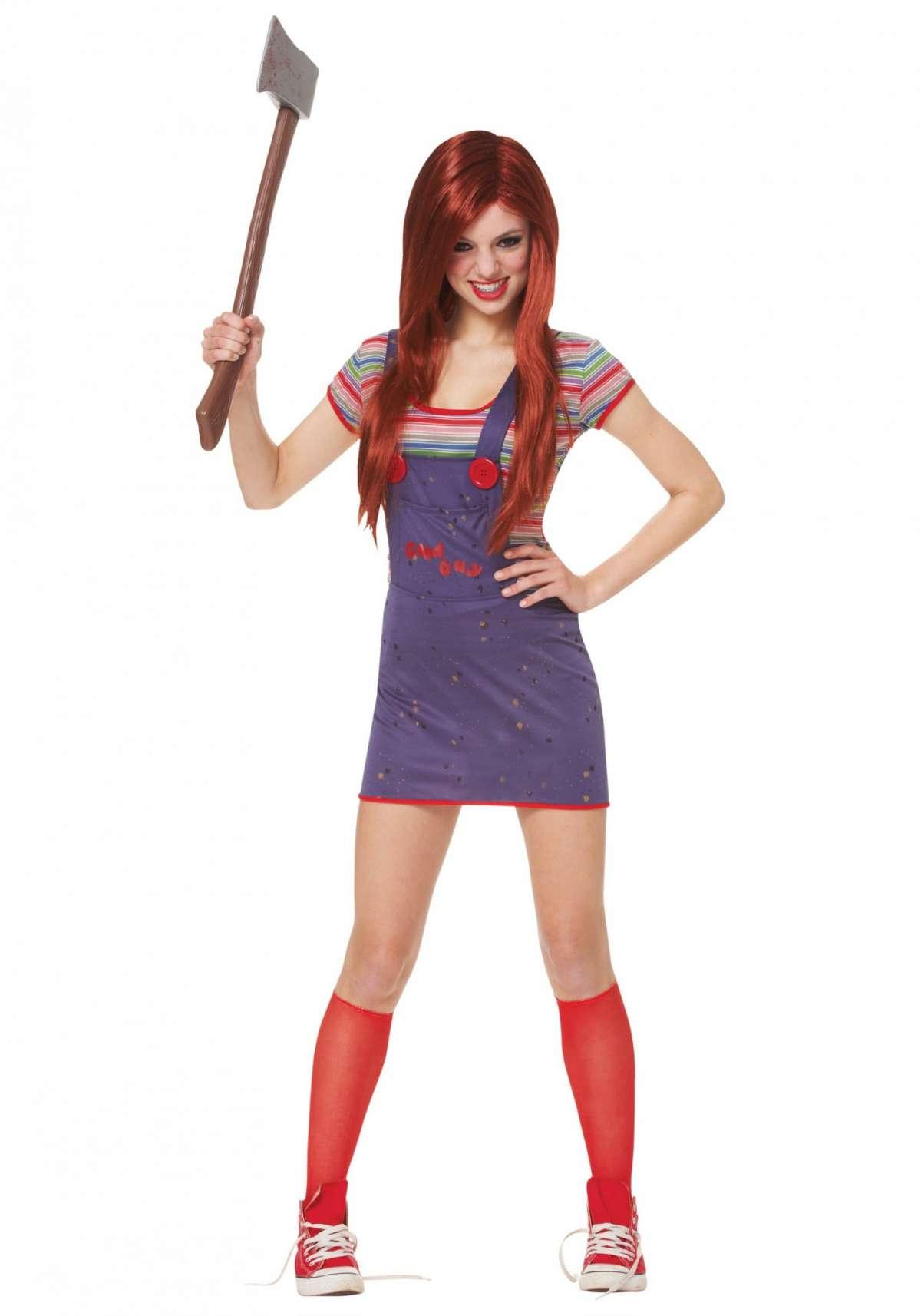 Costume per ragazza da bambola assassina