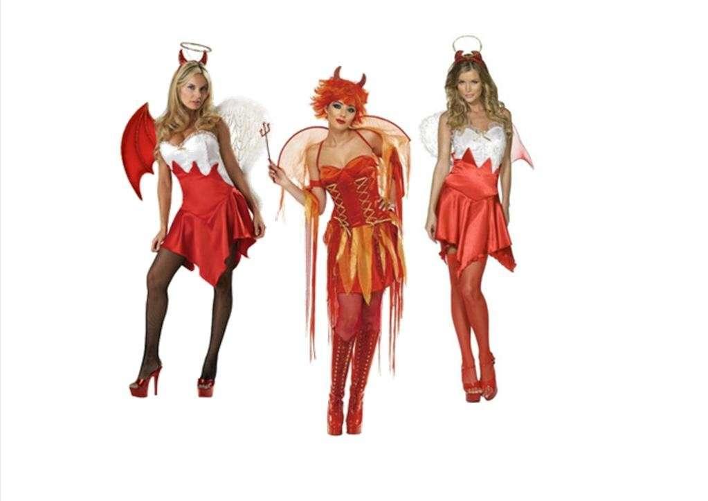 Costumi di Halloween da diavoletta