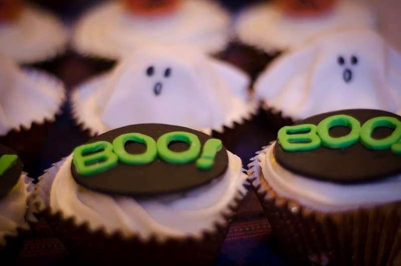 Cupcake boo!