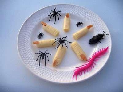 Dita di strega tra ragni e scarafaggi