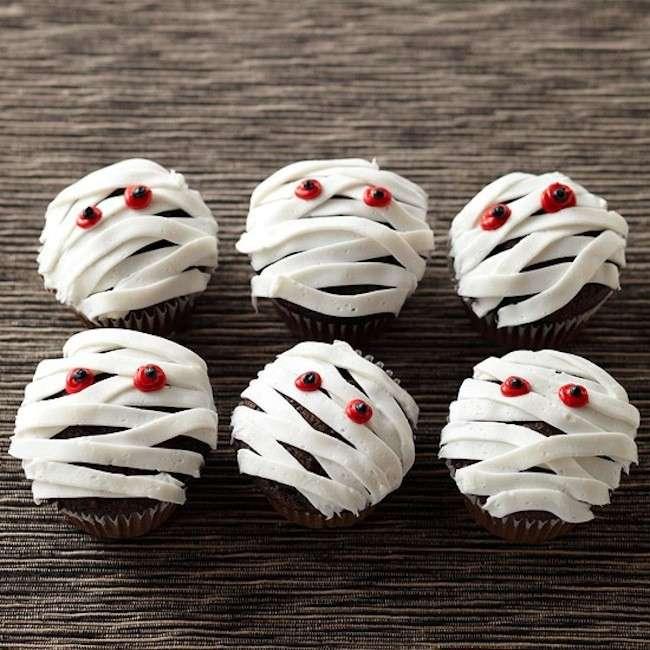 Le mummie cupcake