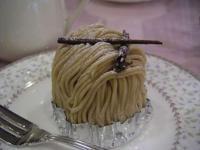Mini Montblanc alla vaniglia